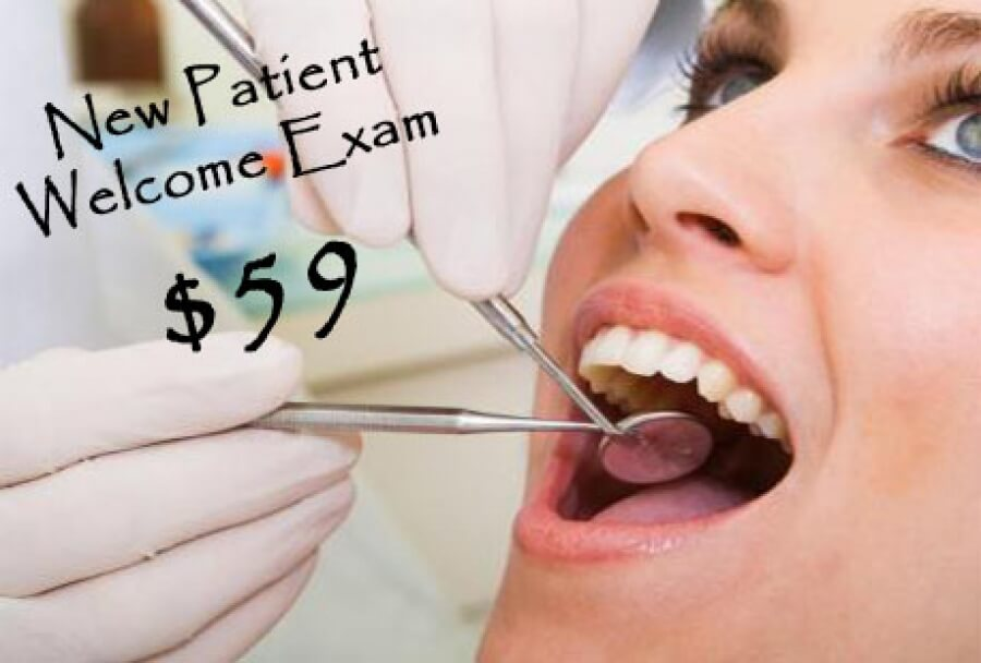 New Patient Welcome Exam - $59